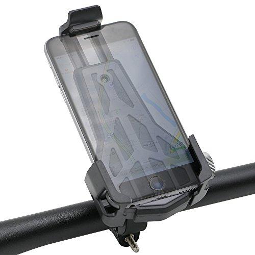 Universal Handyhalterung für Fahrrad, EASTWILD 360 Grad Ratatable Cradle Head Fahrrad Smartphone Halterung, Passend für iPhone 7, 7 Plus, 6, 6s Plus und Android Geräte