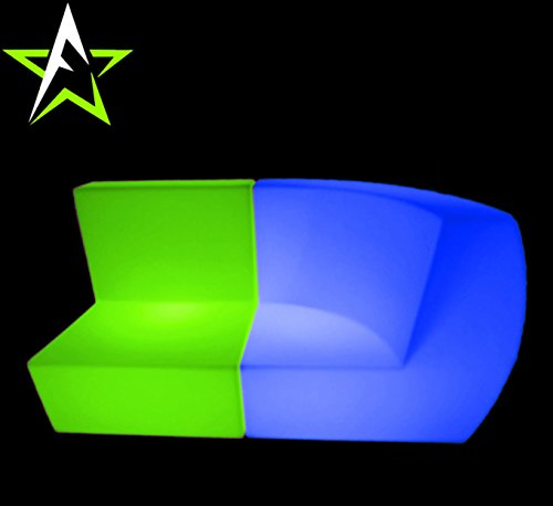 LED LOUNGE SOFA LEUCHTMÖBEL COUCH CUBE NEW DESIGN IN/OUTDOOR CLUB PARTY TREND NEW 2016 DESIGN - 4