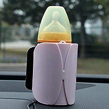 Portátil de viaje Auto calienta biberones, 12 V fuerte Temperatura Constante Auto Calentador De Leche