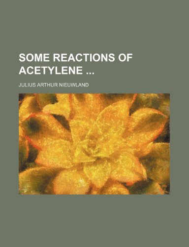 Some Reactions of Acetylene