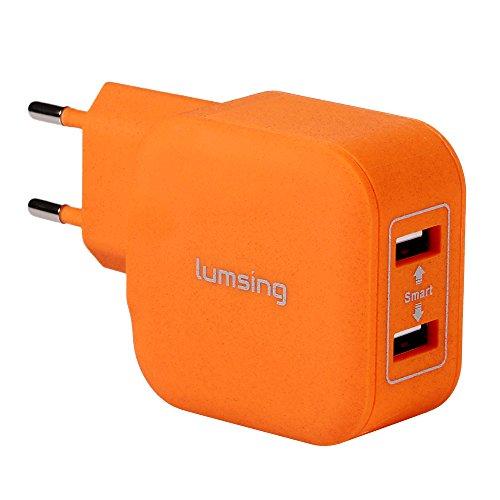 Lumsing® Caricatore Alimentazione 20W 2 Porte USB universale da Parete