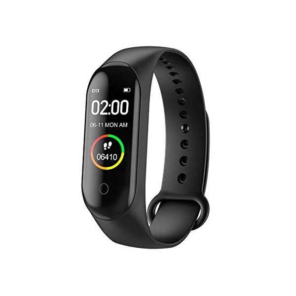 Reloj inteligente de Ango, pulsera de actividad deportiva, frecuencia cardíaca, tensiómetro de la tensión arterial… 2