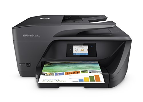 HP OfficeJet Pro T0F32A - Impresora multifunción (Tinta Color, WiFi, fax, copiar, escanear, impresión a Doble Cara, 600 x 1200 ppp, Incluido 3 Meses de HP Instant Ink) Color Negro