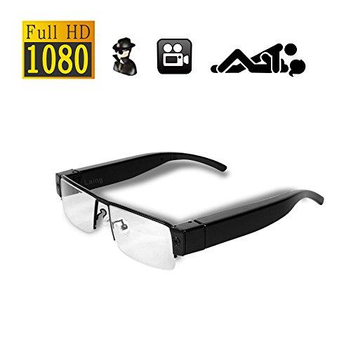 Hd mini dv telecamera spia occhiali da vista portatili per la fotografia di sport all'aria aperta dvr con registratore video sorveglianza nascosta 1080p@laing-h
