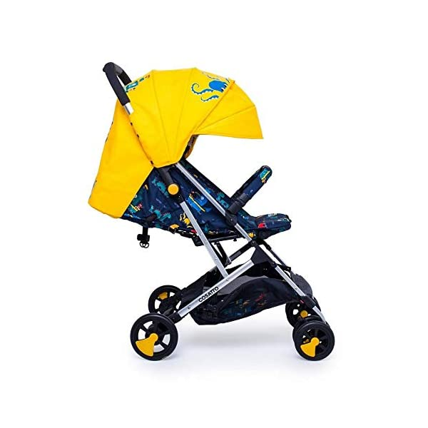 Cosatto CT4226 Woosh 2 Sea Monsters 7.2 kg Cosatto Suitable from birth to max weight of 25kg, lets your toddler use it for even longer Lightweight, sturdy aluminium frame New-born recline 3