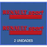 PEGATINAS RENAULT SPORT DR03 VINILO ADESIVI DECAL AUFKLEBER КЛЕЙ STICKERS CAR VOITURE SPORT RACING (ROJO)
