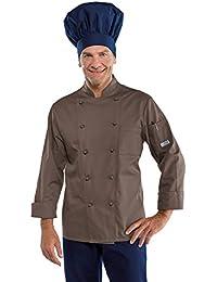 Isacco - Veste de pâtisserie couleur Chocolat