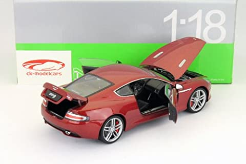 Aston Martin DB9 Coupe Baujahr 2009 rot 1:18