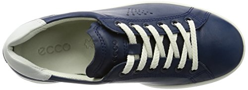 Ecco Damen Soft 4 Derby Blau (50446TRUE NAVY/WHITE)