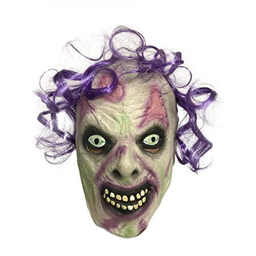 JNKDSGF HorrormaskeRealistische Adult Party Kostüm Horror Maske