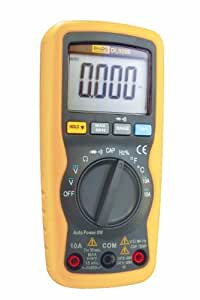 Di-Log DL9206 Compact Auto-Ranging Multimeter, with Large LCD display