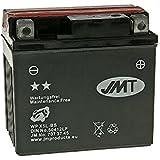 Batterie JMT YTX5L-BS MF sans entretien - Honda NSR 125 R JC22 année de construction 1994-2003