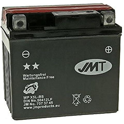 Batteria JMT YTX5L-BS MF senza manutenzione - China Scooter BT50QT-3N