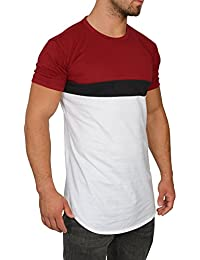 MMC Herren Oversize Shirt - Basic Rundhals T-Shirt Kurzarm
