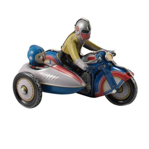 Superfreak® Blechspielzeug Motorrad mit Beiwagen