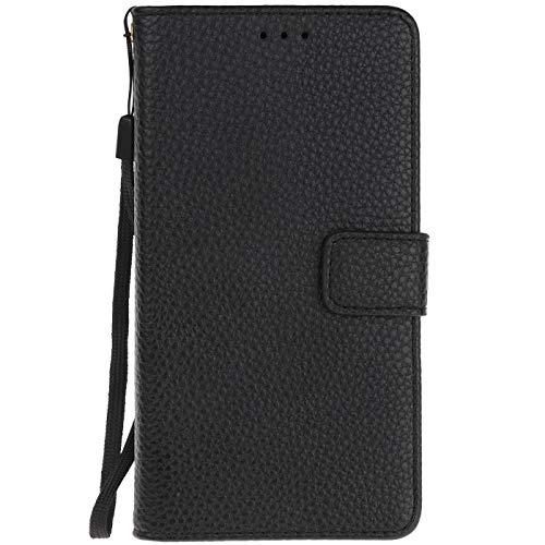 ocketcase® Leagoo S8 Pro Hülle, PU Leder Flip Case Wallet Stylish mit Standfunktion Schutzhülle (Litschi-Korn 7)