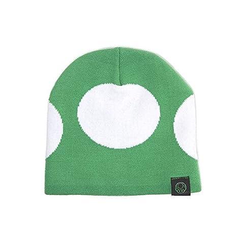 Nintendo Bonnet Super Mario Mushroom nouveau officiel gamer Vert