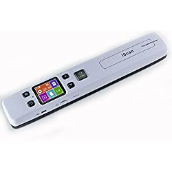 Scanner portable High Speed Handheld Scanner A4 Scanner Taille document 1050 DPI
