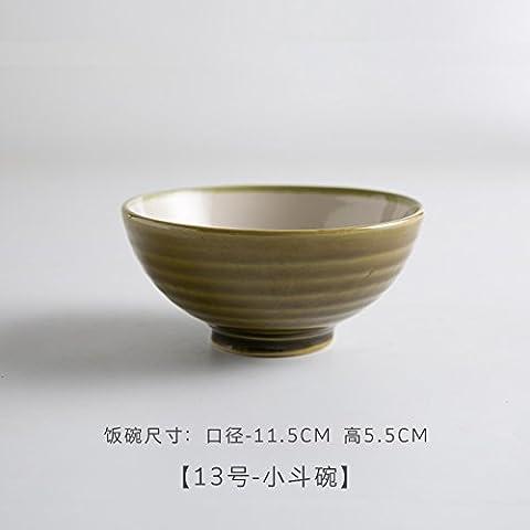 Mh-rita Creative Whale Bol Saladier Lovely Bol à riz Cuit Bol Bol en céramique Vaisselle de ménage