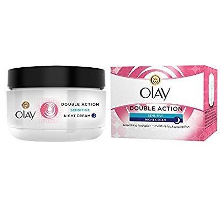 Olay Crème de nuit double action for sensitive skin (50ml) by Olay