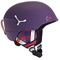 Cebe Suspense Deluxe Ski Helmet (Matte Violet Square)Description:The Suspense deluxe ski helmet is a beautiful ski helmet from popular ski accessory manufacturer Cebe. The Suspense is a lightweight helmet that has a quick release chinstrap to...