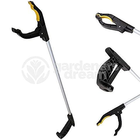 GardenersDream 76cm Litter Picker Rubbish Debris Long Handy Mobility Aid - Reaching Assist Tool for Trash Pick Up, Litter Picker, Garden Nabber, Disabled, Arm Extension