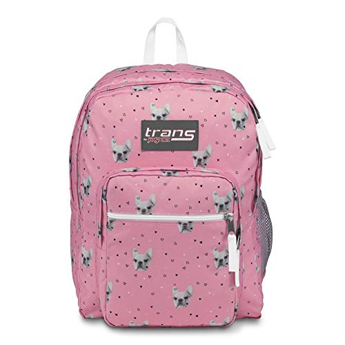 Trans by JanSport SuperMax Rucksack, 43,2 cm, Fierce Frenchies (Rucksack Niedlich Jansport)
