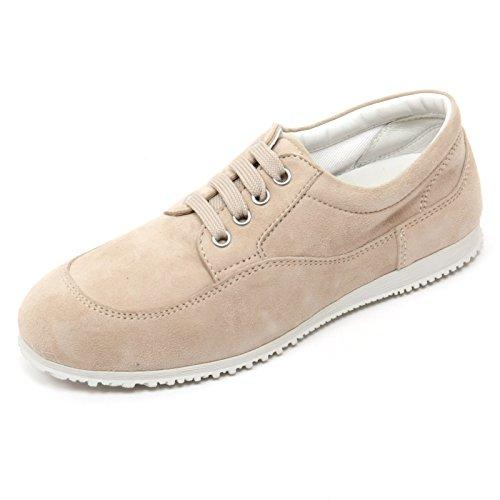 B7590 scarpa classica donna HOGAN H258 TRADITIONAL scarpe beige shoe woman Beige