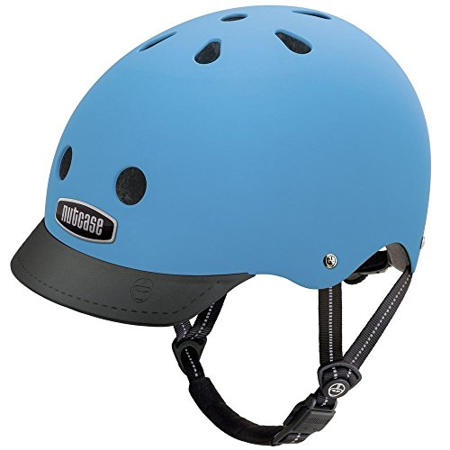 Nutcase - Street, Fahrradhelm für Erwachsene, Blau (blau), Gr. L (60-64 CM) Unisex Street-bikes