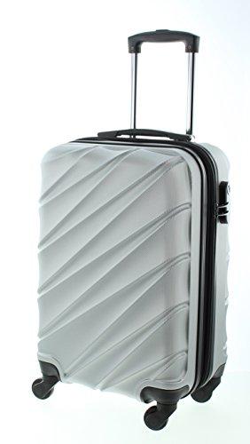 Pianeta Maleta negro 50cm (M) Silber Handgepäck