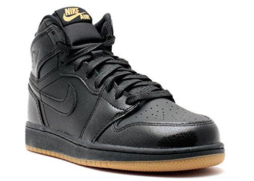Nike Air Jordan 1 Retro High OG BG, Chaussures de Sport-Basketball Garçon