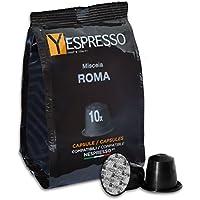 Yespresso Capsule Nespresso Compatibili Roma - Confezione da 100 Pezzi