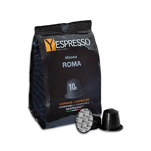 240 Capsule compatibili Nespresso ROMA 1 spesavip