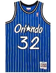 Mitchell & Ness Shaquille O'Neal #32 Swingman Jersey, Orlando Magic, Trikot Shirt, magic blue