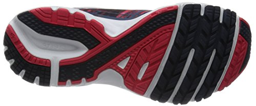 Brooks Damen Launch 3 Laufschuhe Mehrfarbig (schwarz/rot/weiß)
