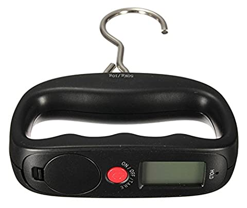 SaySure - 50kg/10g Fish Hang Luggage Suitcase Weight LCD