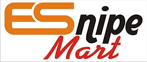 ESnipe Mart LatestUSB-C to 3-Port USB 2.0 Hub + RJ45 Adapter - Type-C to Gigabit Ethernet LAN Network+3 USB Ports Converter for MacBook/Pro/iMac/ChromeBook/Pixel/More Type-C Devices (White) (Type-C to RJ45)