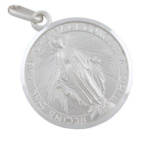 AFP Anhänger Madonna Heilige Maria 925 Sterling Silber AS-431