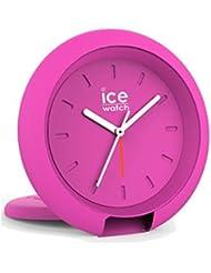 Ice-Watch 015194Ice Travel Clock Orologio unisex analogico in plastica luce allarme Pink