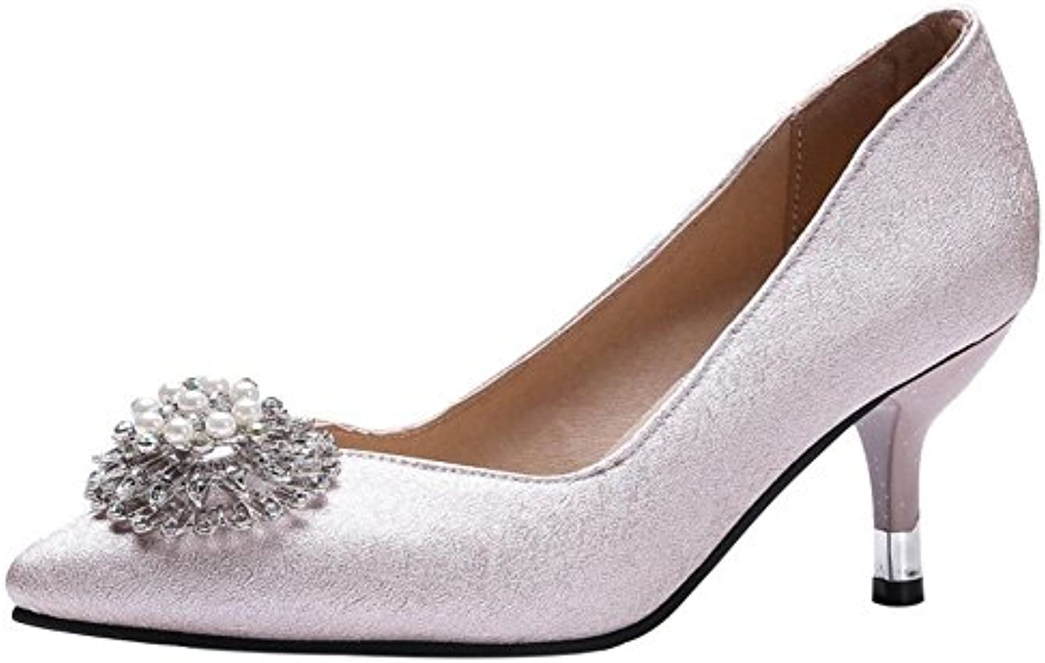 Coolcept Mujer Puntiagudo Pumps Sin Cordones