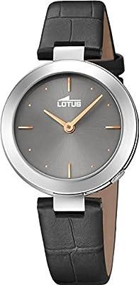 Lotus Reloj Analógico para Mujer de Cuarzo con Correa en Cuero 18483/2