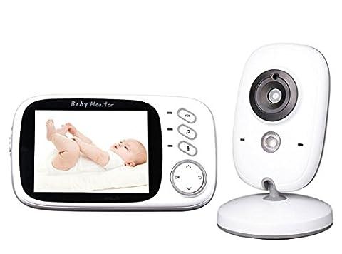Joyeer Baby-Säuglingsmonitor Electronica Wireles LCD-Anzeige Digital Video Baby Temperatursensor Kamera Audio IR Nachtsicht Zwei Möglichkeiten Sprechen Babysitter
