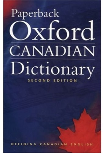 Paperback Oxford Canadian Dictionary