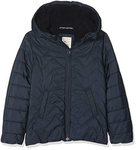 ESPRIT KIDS Mädchen RM4207309 Jacke, Blau (Midnight Blue 485), Herstellergröße:92+