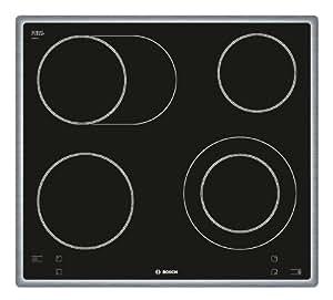Bosch Ceran NKN645C14D Table de cuisson vitrocéramique témoin de chaleur résiduelle Dispositif d'arrêt d'urgence 57,6 cm