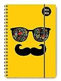 Collegetimer Sunglasses 2015/2016 - Schülerkalender A5 - Weekly - Ringbindung/Ringbuch - 224 Seiten