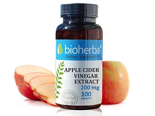 Apfelessig Extrakt 200 mg, 100 Kapseln