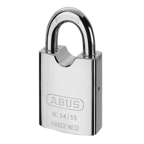 Abus - 34/55 55mm 55mm gehärtetem Stahl Vorhängeschloss Carded 35055 - ABU3455C