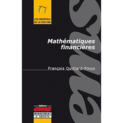 Mathématiques financières (Les essentiels de la gestion)