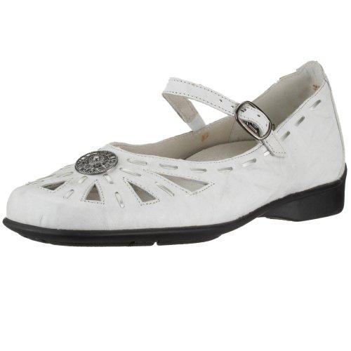 Remonte Dorndorf - Bailarinas de Cuero para Mujer, Color Blanco, Talla 43